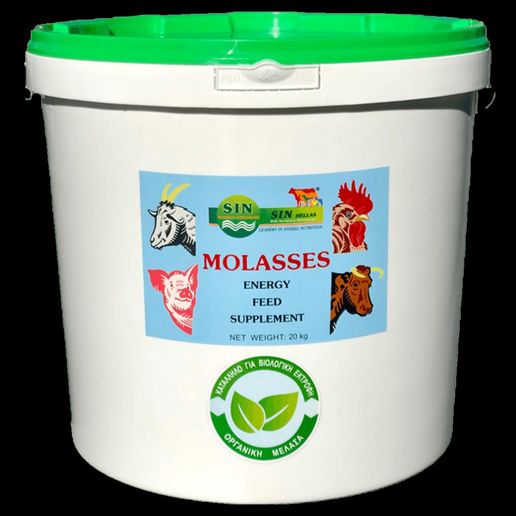 Molasses bucket bio 2